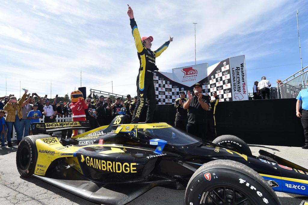 IndyCar | Herta torna a vincere a Laguna Seca, Palou sogna il titolo [VIDEO]