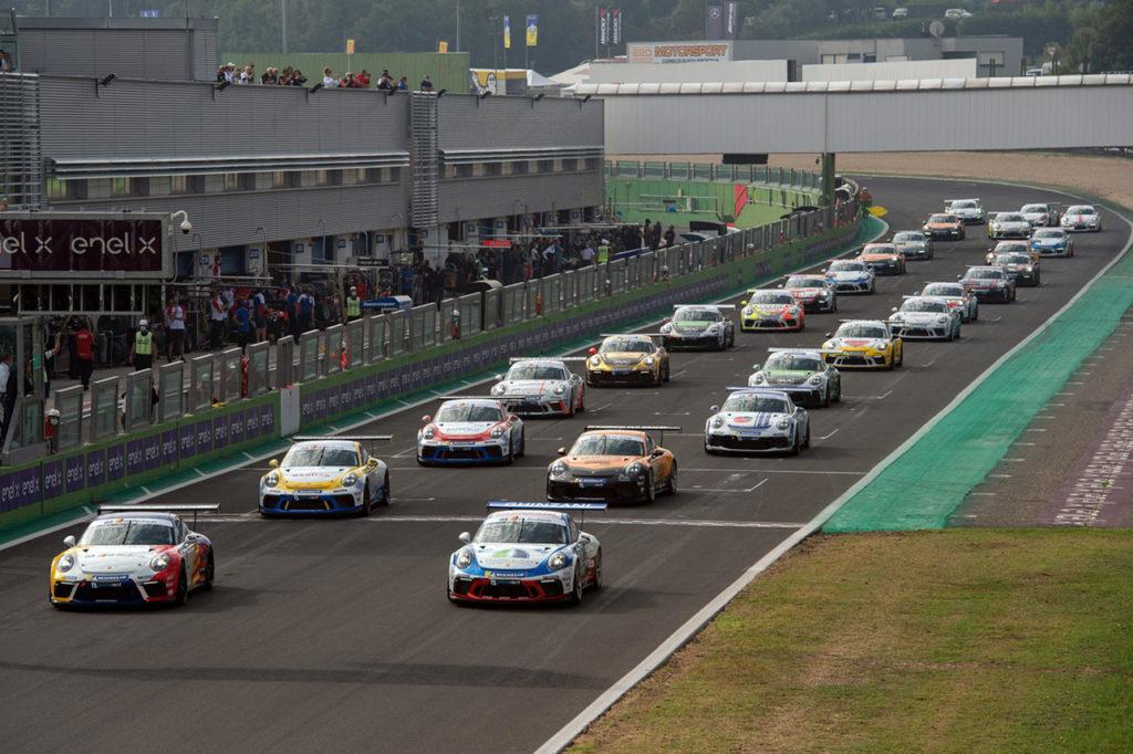 Porsche Carrera Cup Italia | Giardelli guida il plotone di 31 auto verso la tappa di Vallelunga