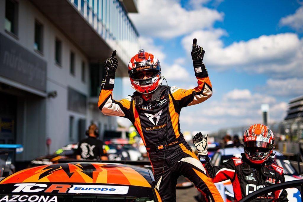 TCR Europe   Azcona inarrestabile al Nurburgring: doppietta con Cupra