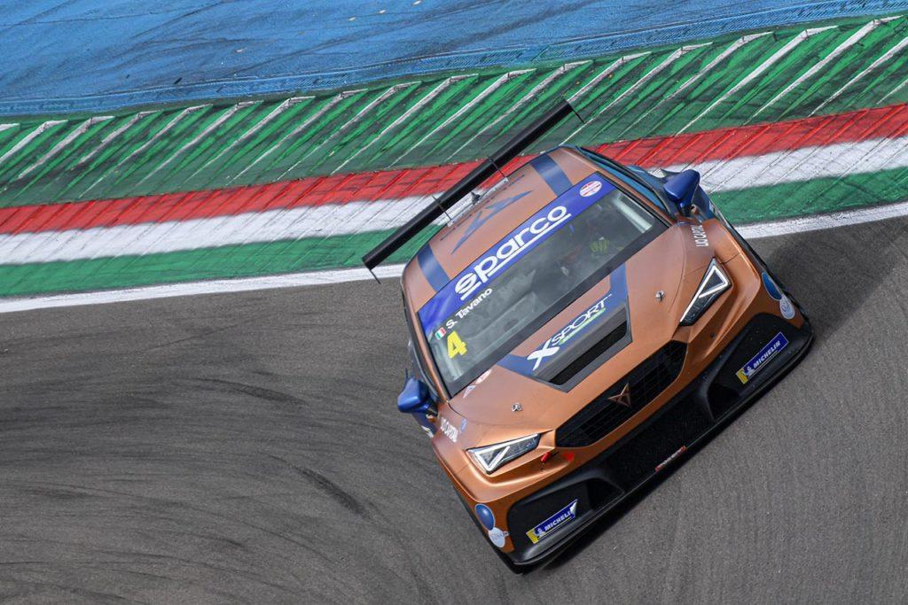 TCR Italy | Tavano torna alla vittoria a Imola con Cupra e balza in testa al campionato