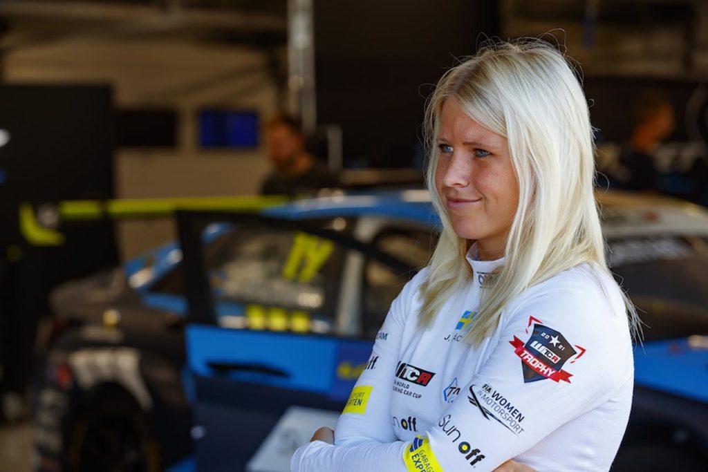 WTCR | Jessica Backman correrà ad Anderstorp nell'STCC con un'Audi