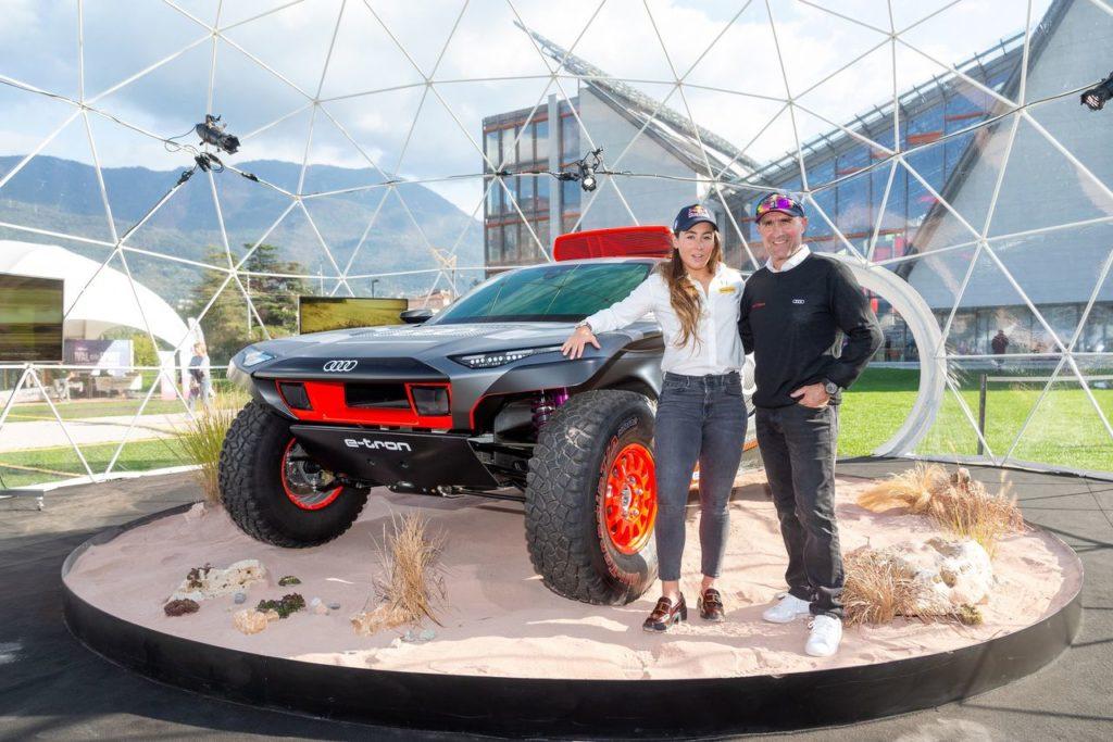Dakar | Audi ha presentato al Festival di Trento la RS Q e-tron, in anteprima per l'Italia