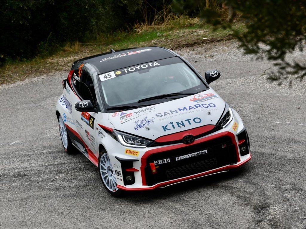 GR Yaris Rally Cup | Al Rally Due Valli Gianesini e Fay concedono il bis stagionale