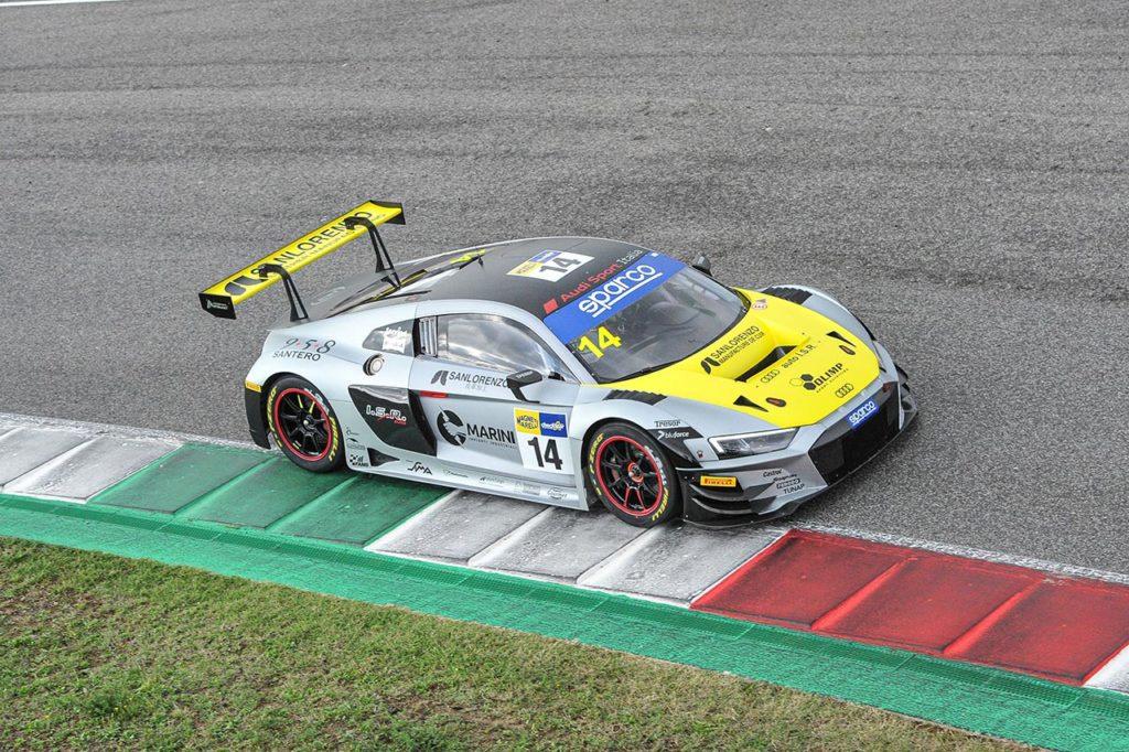 CIGT   Mugello, Gara 1: penalità per Frassineti-Ghiotto, vincono Mancinelli-Postiglione