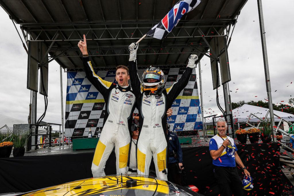 IMSA | Terza vittoria consecutiva per Milner-Tandy con Corvette in Virginia